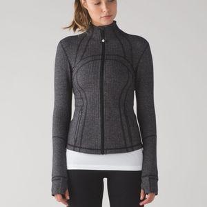 RARE Lululemon Define Jacket Heathered Herringbone